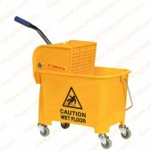 Mini Single Mop Bucket with Wringer