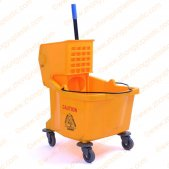 36L Yellow Mop Bucket & Wringer Combo