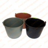 9L Plastic Round Bucket with Handle