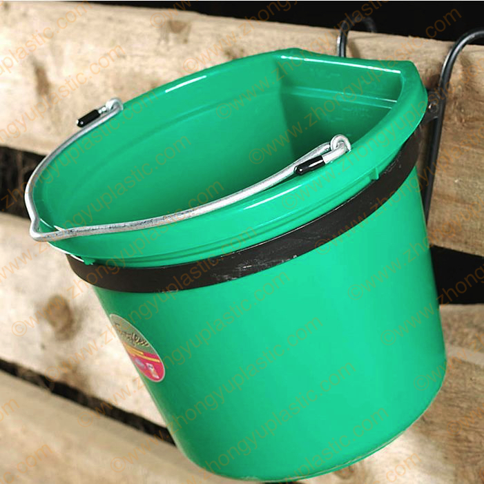 20 Quart Flat-Back Bucket