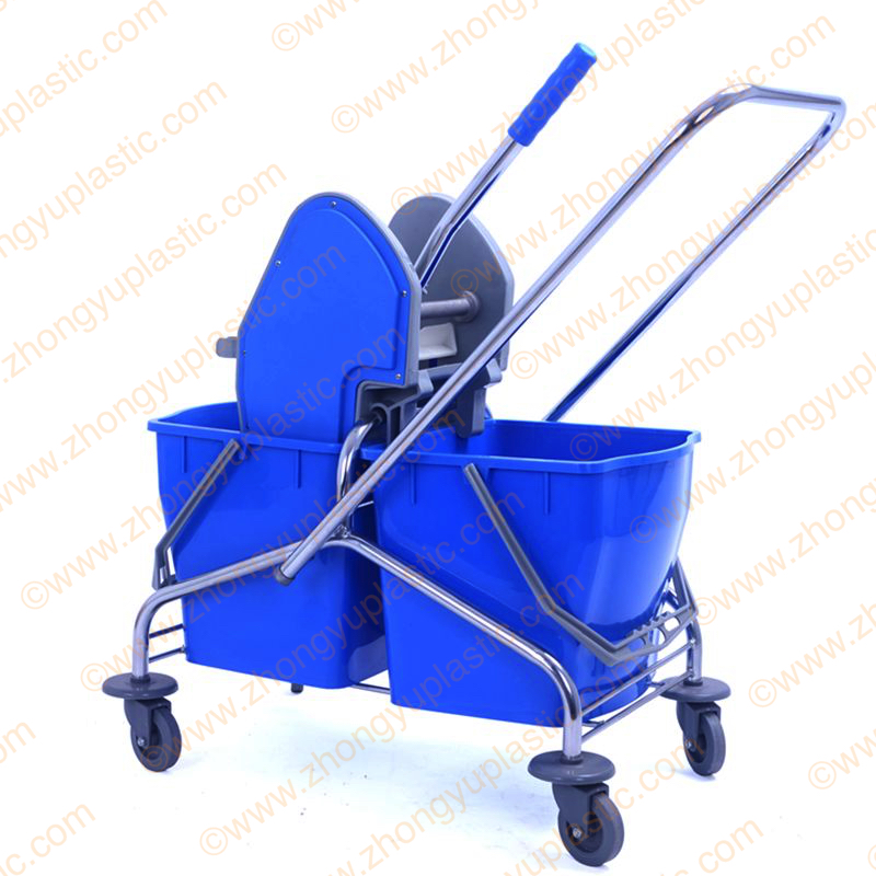Factory Wholesale 50L Plastic Mop Bucket