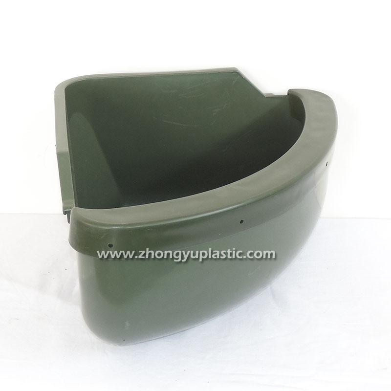 Plastic Corner Feed Trough